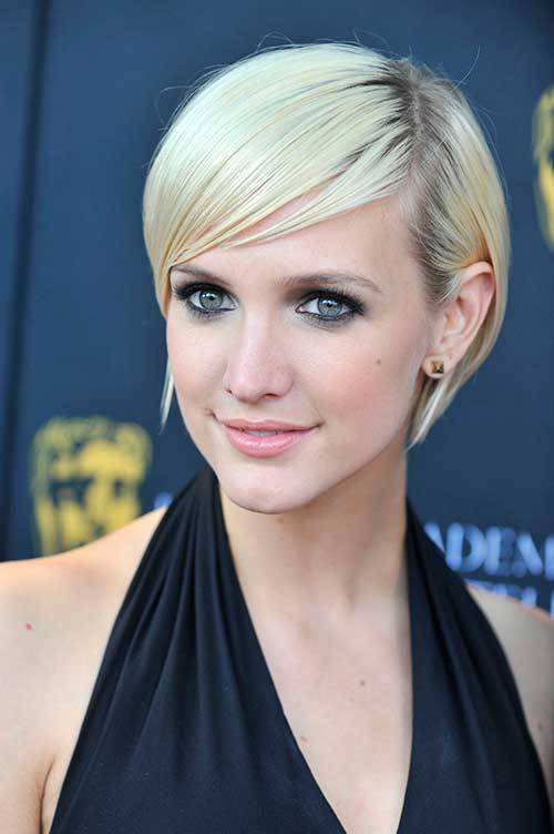 Best Pixie Cut Ashlee Simpson