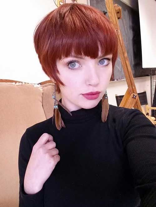 Pixie Cut for Hipster Girls