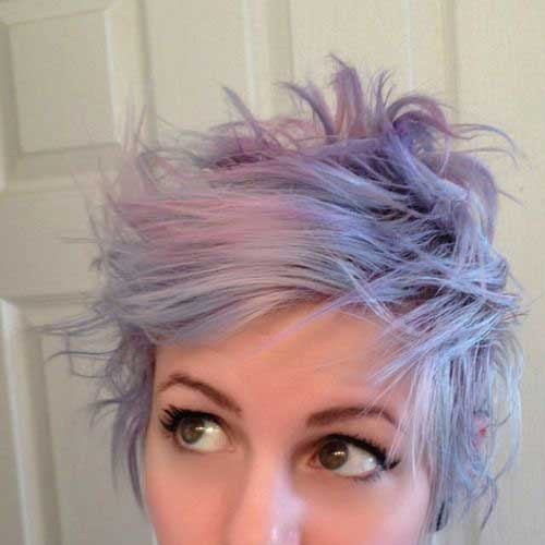 Pastel Pixie Hair Colors