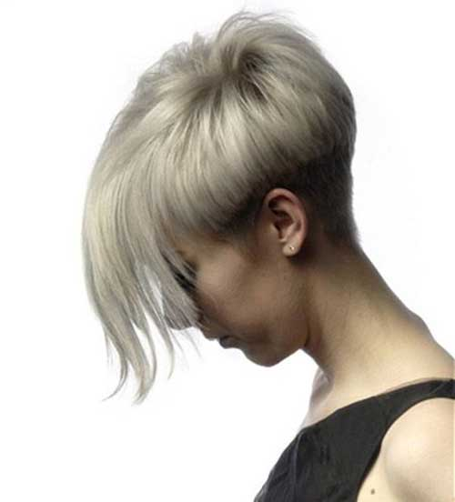 Best Pixie Haircuts with Long Bangs