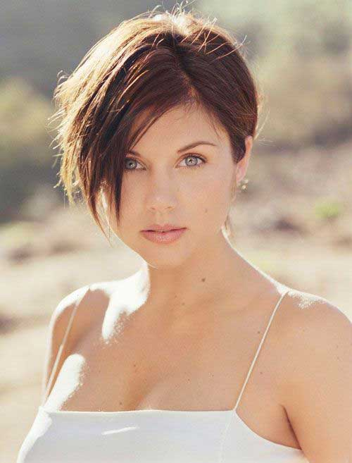 Stylish Long Pixie Haircut 2016