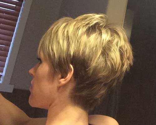 Best Back View of Pixie Cut