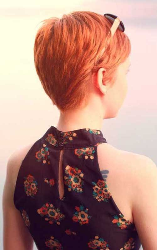 Back Look of Pixie Haircuts