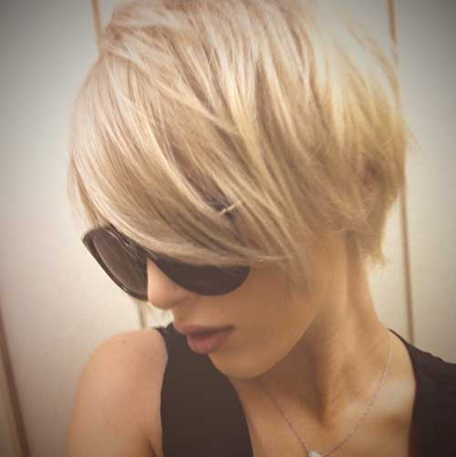 Best Hair Color for Long Pixie Cut