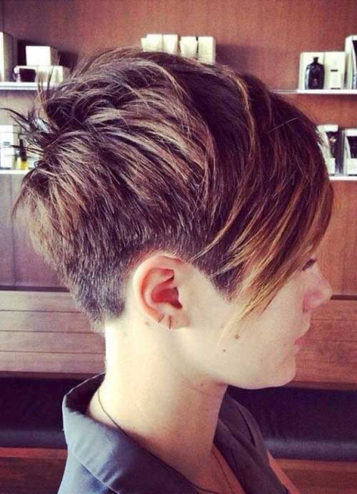 Best Hair Color for Short Layered Pixie Cut