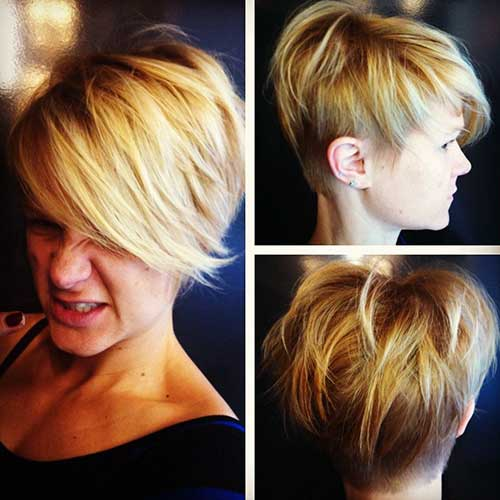 Best Messy Long Pixie Hairstyles