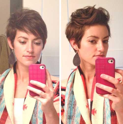 Black Hair Pixie Cuts