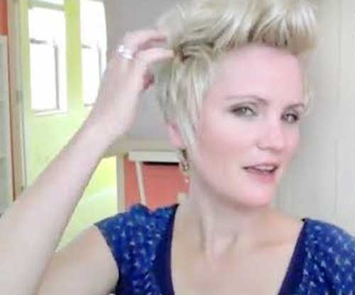 Blonde Pixie Hair Styles 2016