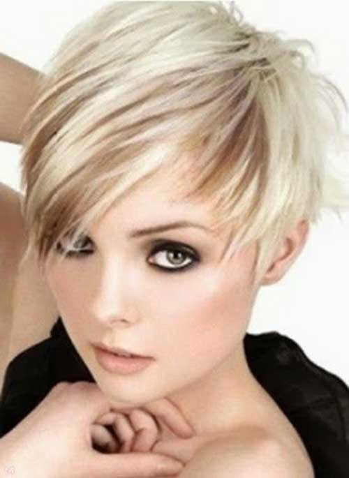 Blonde Short Hair Pixie Styles 2015-2016