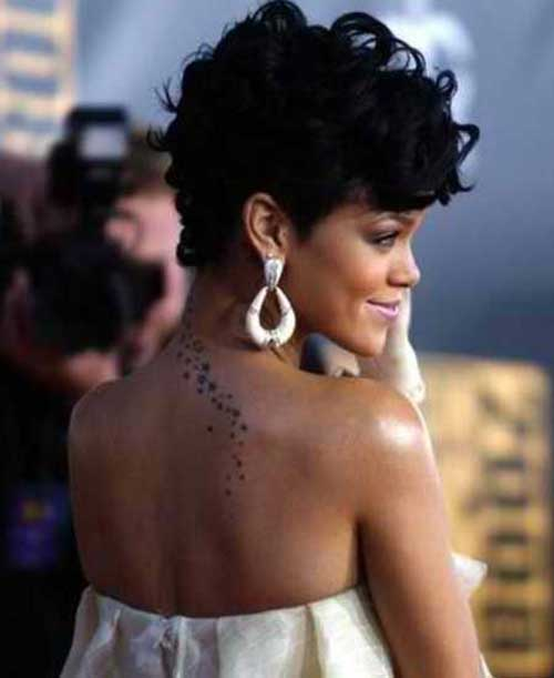 Best Celebrity Curly Pixie Cuts 2015