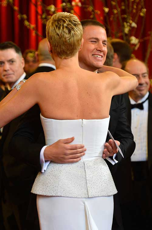 Charlize Theron Pixie Cuts Back View Look