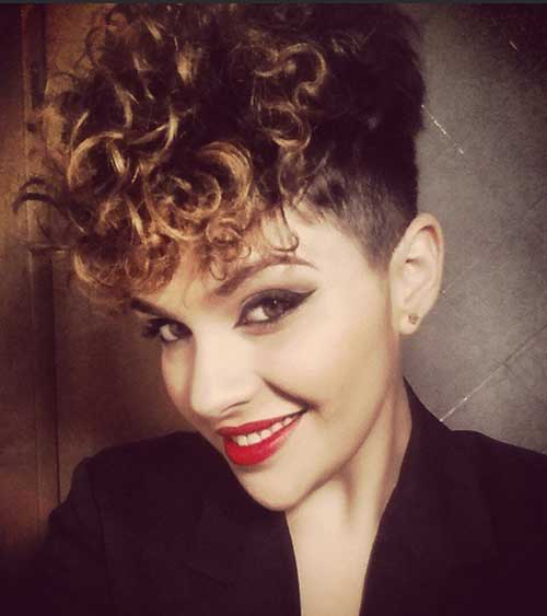Cool Short Curly Pixie Hairstyles