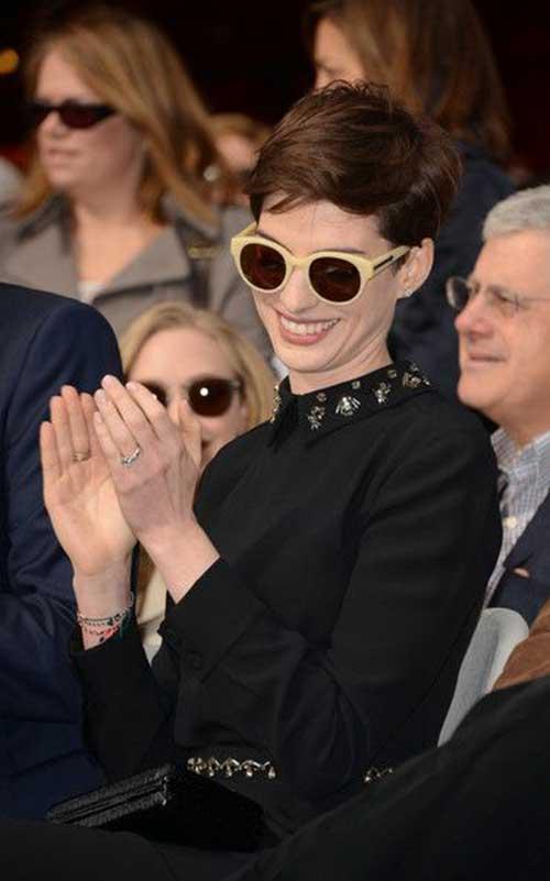 Cute Pixie Haircut Styles Anne Hathaway