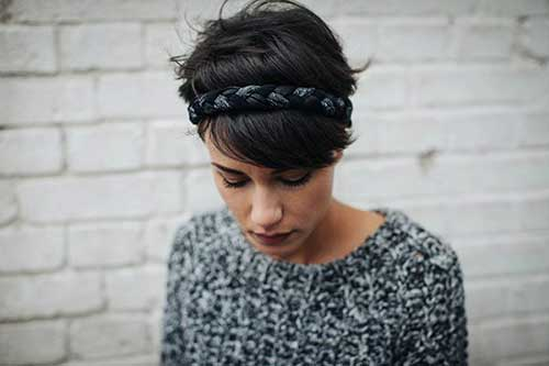 Best Cute Pixie with Headband