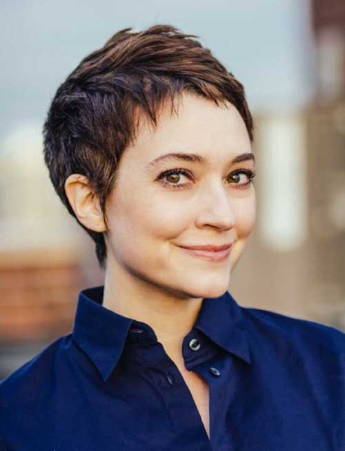 Cute Thin Hair Pixie Cuts
