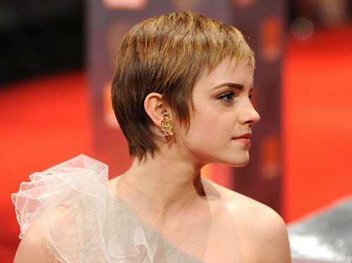 Best Emma Watson Pixie Cut Hair