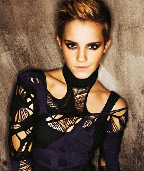Chic Emma Watson Pixie