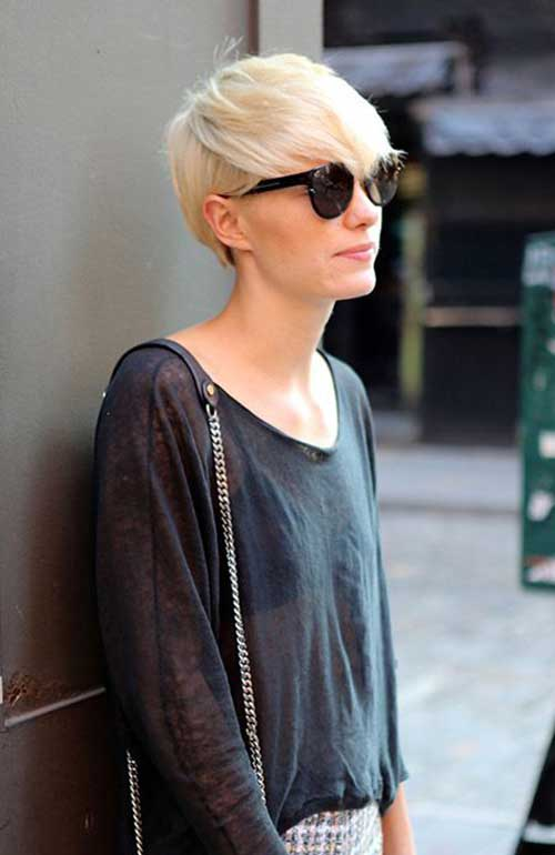 Great Short Blonde Pixie Haircuts