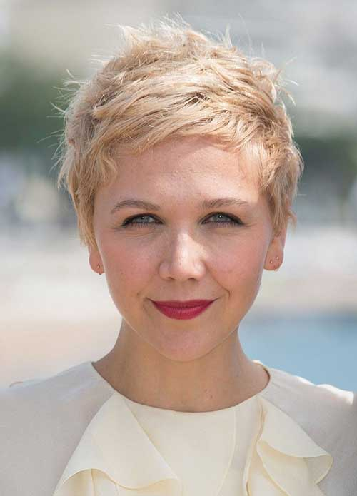 Blonde Hair Color Ideas for Pixie Cuts