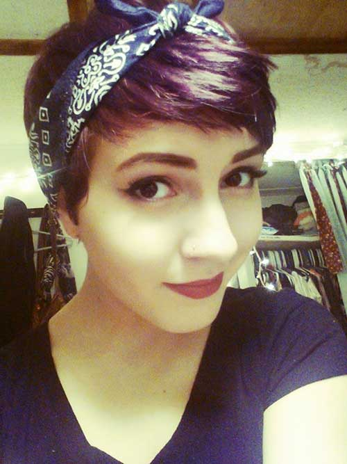 Cute Hipster Pixie Cut