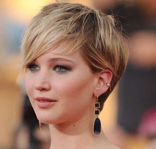 25 Jennifer Lawrence Pixie Haircuts