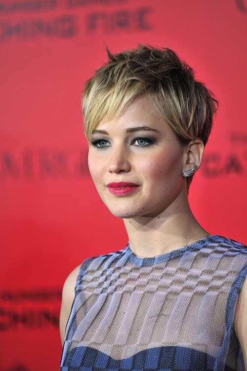 Jennifer Lawrence Best Pixie for Girls