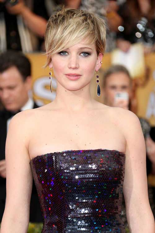 Jennifer Lawrence Best Pixie