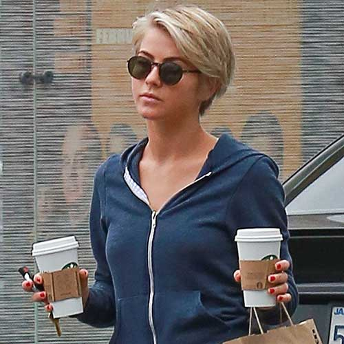 Julianne Hough Hair Pixie Cut