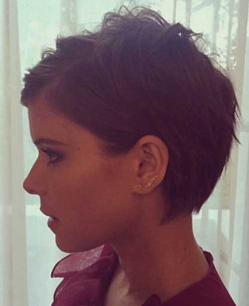 Kate Mara Short Pixie Hair 2015