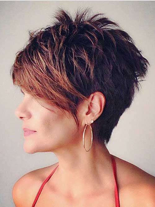 Latest Layered Pixie Haircuts for Women