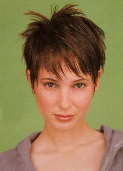 Layered Hair Colors Pixie Cut
