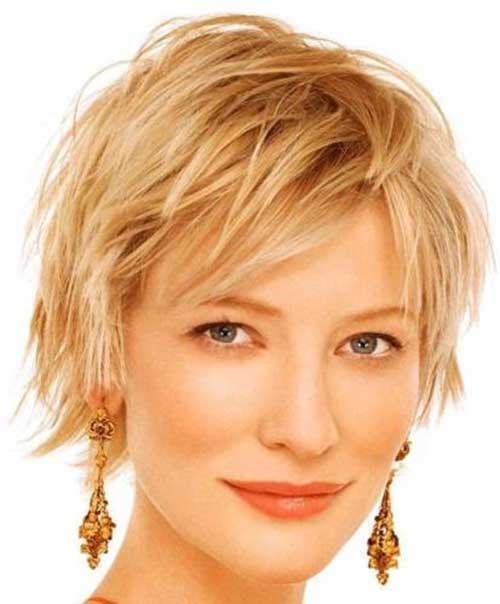 Cate Blanchett Layered Long Pixie