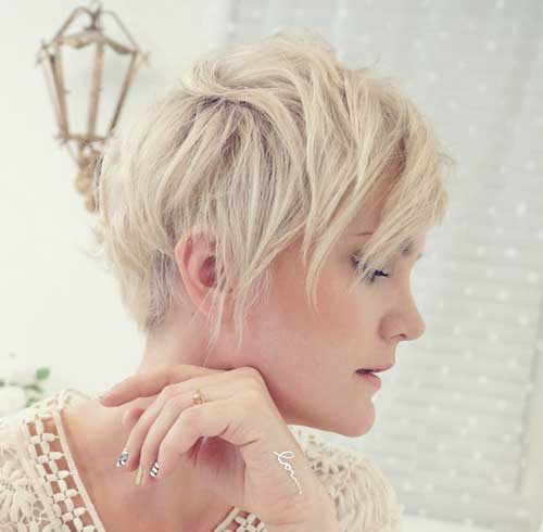 Cute Layered Pixie