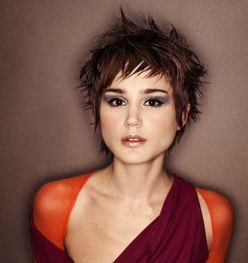 Layered Razor Cut Pixie Hairstyles