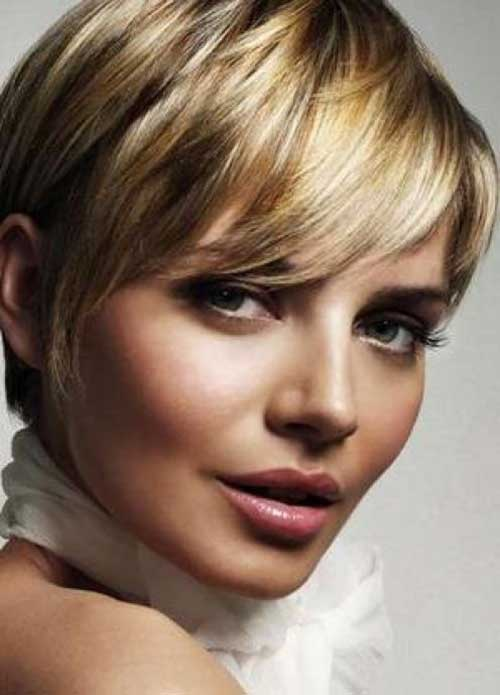 Long Pixie Cut Blonde Hair Color