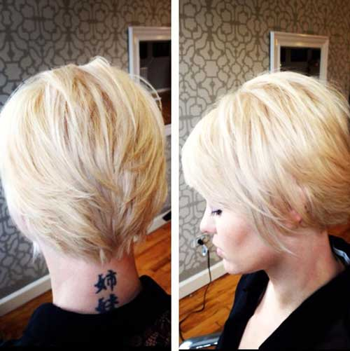 Long Pixie Haircut Back View Look