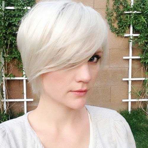 Long Blonde Pixie Haircuts