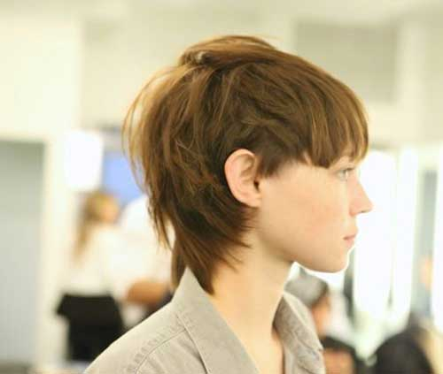 Long Pixie Razor Cut Hairstyles