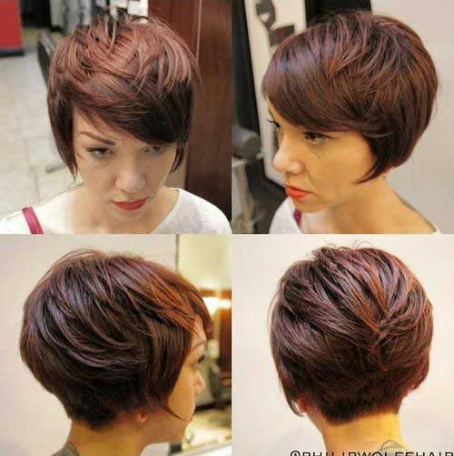 Long Pixie Thick Haircuts