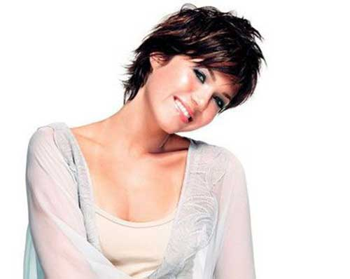 Mandy Moore Short Pixie Hairstyles