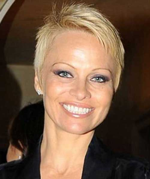 Best Pam anderson Layered Pixie Haircut