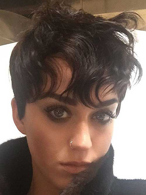 Wavy Pixie Hair