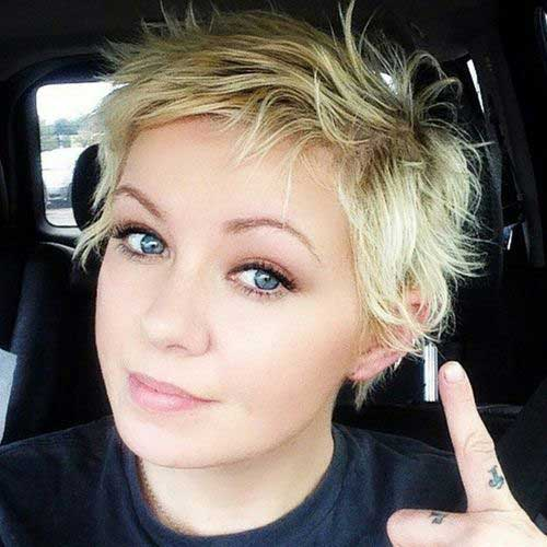 Edgy Pixie Cut Color