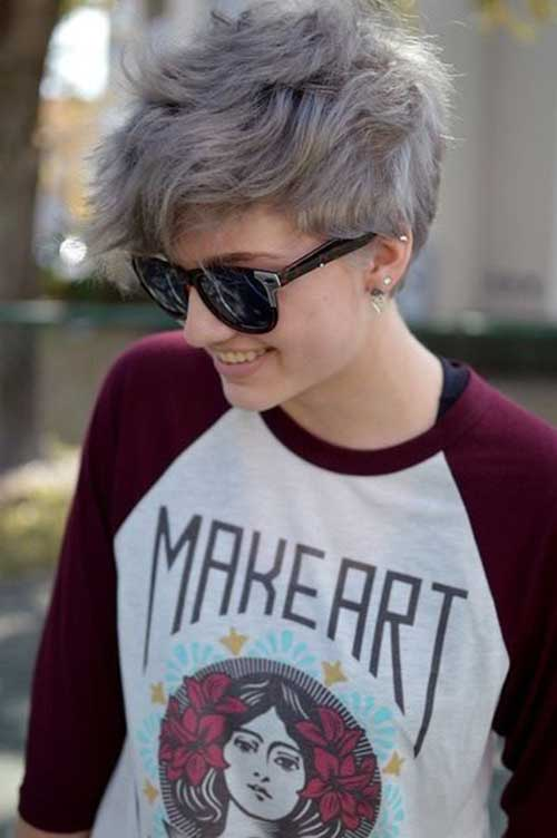 Pixie Tomboy Short Hair For Girls