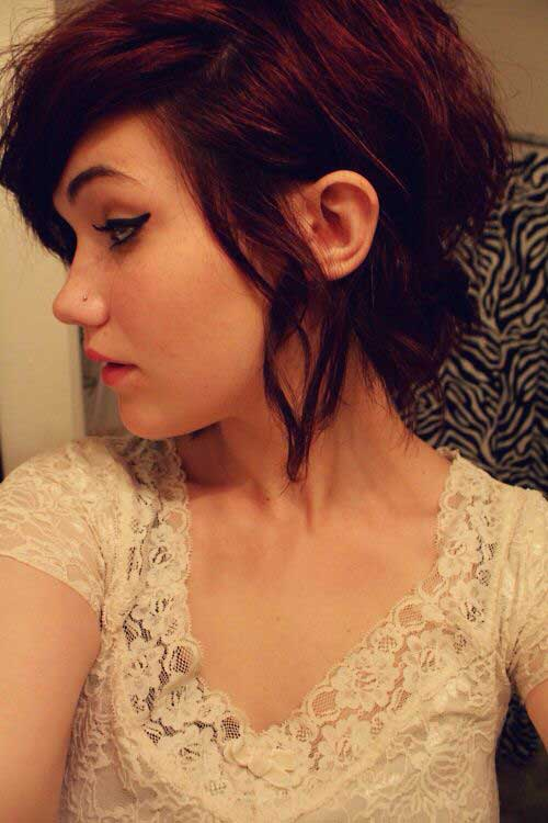 Cute Pixie Cut for Wavy Hair