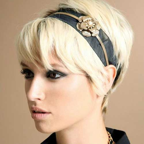 Blonde Pixie Hair Color Ideas