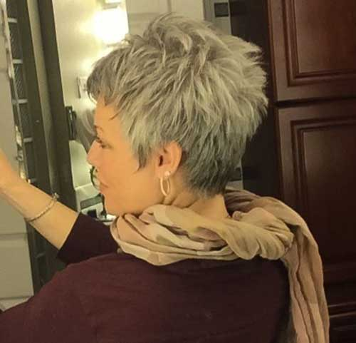 Best Pixie Hairstyles for Gray Hair