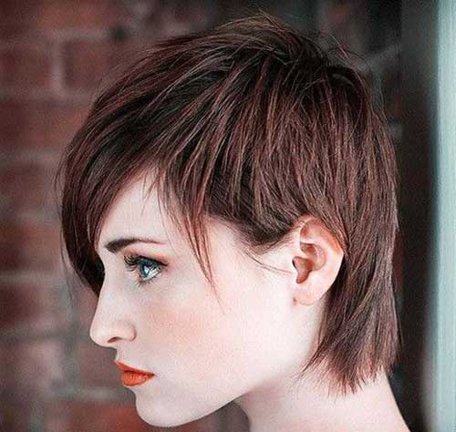Pixie Thin Layered Hair Styles