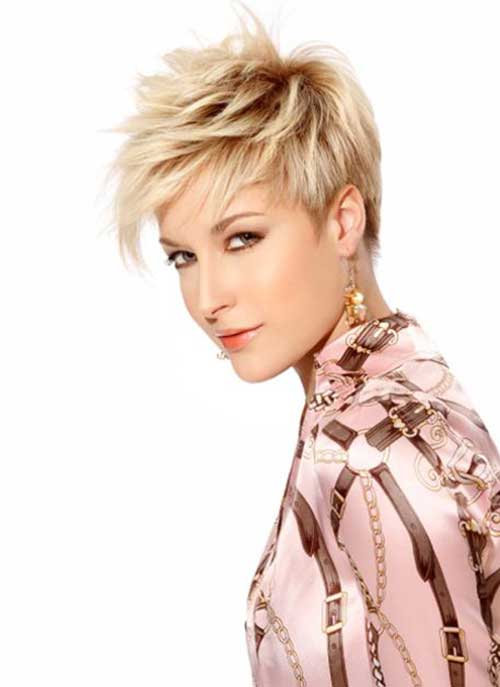 Razor Cut Pixie Haircut