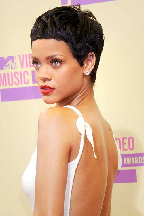 Best Rihanna Cute Pixie